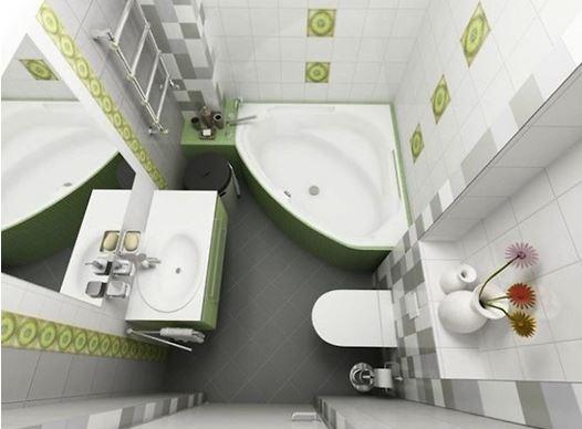 Gợi ý mẫu phòng tắm nhỏ 2m2 đầy đủ tiện ích