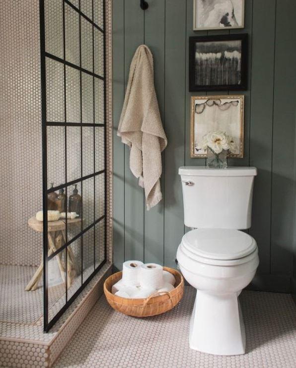 Thêm một mẫu phòng tắm diện tích nhỏ nhưng vẫn độc đáo