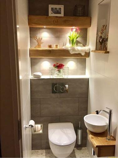 Mẫu nhà tắm nhỏ hiện đại gọn và sang trọng