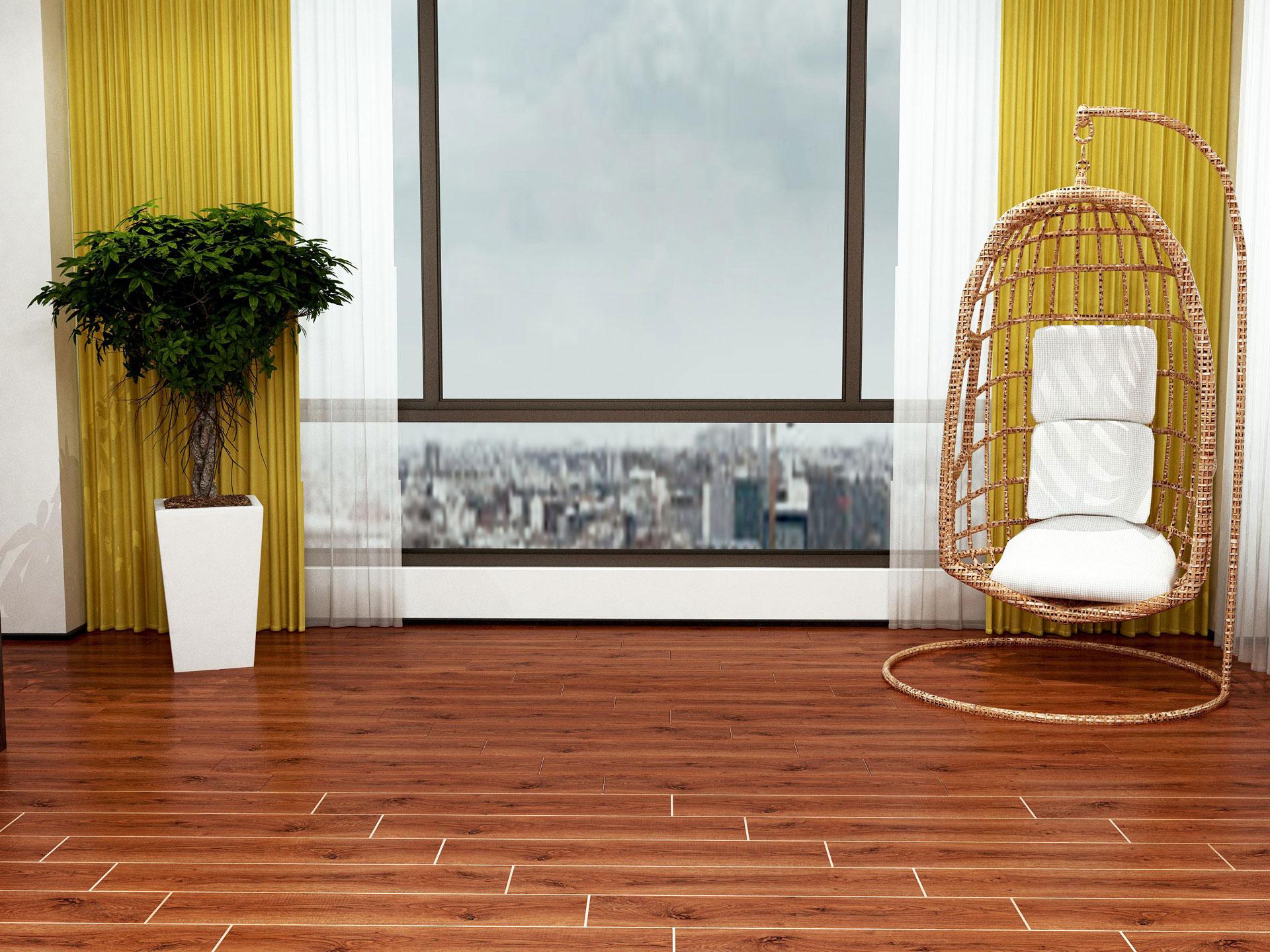Gạch vân gỗ thân thiện với môi trường